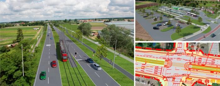Strassenbahnneubau--thon-am-wegfeld